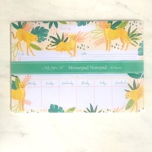 Lady Jayne Tiger Notepad NWT Tigers in the Jungle